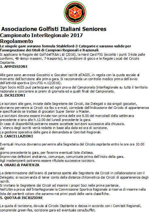 AGIS 30mar17 regolamento