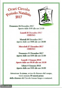 orari natalizi 2017